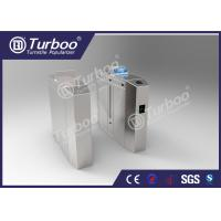 Wholesale Anti - Tailgating Flap Barrier Turnstile With Durable DC Brushless Motor from china suppliers