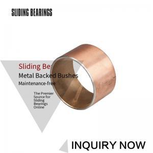 China CuPb24Sn4 Material Bimetal Connecting Rod Bushing SAE-799 JF720 on sale