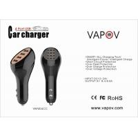 9.6A 4 Port USB Car Charger Intelligent For mobile phone and tablet Manufactures