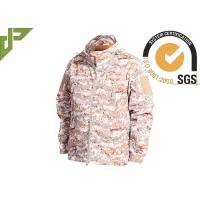 Wholesale Warm Military Tactical Jackets Digital Desert Color , Winter Law Enforcement Outerwear from china suppliers
