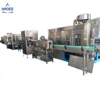 China Industrial Water Bottling Equipment / Mineral Water Machine 24 Filling Head on sale