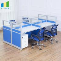 Wholesale Commercial Office Furniture Partitions / MFC Panel 4 Seater Conference Table from china suppliers