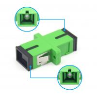 Wholesale Simplex SC APC Adapter FTTX Single Mode With Shutter For ODF Telecom from china suppliers
