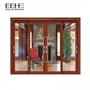 China Recyclable Aluminum Sliding Glass Doors / Modern Anodised Aluminium Sliding Doors on sale