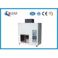 Wholesale UL94 Plastic Flammability Testing Equipment For Horizontal / Vertical Combustion from china suppliers
