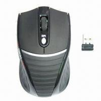 Wholesale Right-handed Ergonomic Maneuverability Wireless Mice with 2.4GHz Transmitting Technology from china suppliers