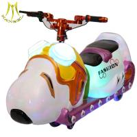 Wholesale Hansel Battery operated amusement park equipment kids rides on motorcycle electric for sale from china suppliers