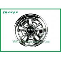 Wholesale Durable 8 Golf Cart Wheel Covers Easy Installation Deep Dish Shiny Black from china suppliers