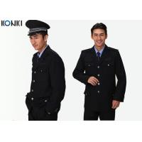 Wholesale Single Breasted Jacket Security Guard Uniform Long Sleeve For Men from china suppliers