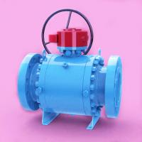 """Quality Forged Steel Trunnion Mounted Ball Valve API 6D 1"""" - 48"""" Flange Anti-fire safe for sale"""