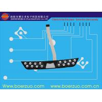 China LED Self Adhesive Waterproof Membrane Switch , Poly Embossed Push Button Switch on sale