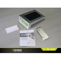 Wholesale High Bright Solar Motion Sensor Light With Removable Battery / Solar Sensor Lamp from china suppliers