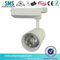 Wholesale clothing shops surface mounted high lumen adjustable cob 10w led track light from china suppliers