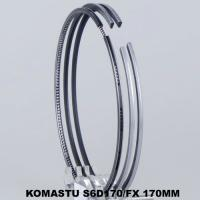 Wholesale Ceramic Compressor Engine Piston Ring Set S6D170 With Wear - Resistance from china suppliers