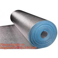 China Aluminum foil coated with 3mm EPE foam for thermal insulation,Thermal break foil covered foam insulation board,bagease on sale
