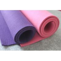 Wholesale 3mm, 5mm or 1mm-18mm Colored Pure Sheep Wool Felts, 100% Wool Felt Sheet for Indurial from china suppliers