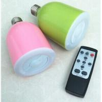 Wholesale Led Bluetooth Speaker With Led Lamp RGB Lamp Wireless , Speaker And Lamp RGB Lamp Wireless from china suppliers