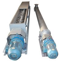 China Stable Performance Tubular Screw Conveyor For Handling Cement / Sand / Concrete on sale