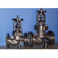 BB-BG-OS&Y Bellow Globe Valve Gear Pneumatic DIN3356 BW Hasteloy Out Blowing