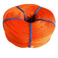 China 16mm PE PP Commercial Fishing Rope / Braided Polypropylene Rope on sale