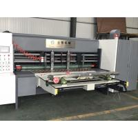 Buy cheap Lead edge feeder Automatic Electrical Adjust Type Carton Box Rotary Slotter from wholesalers