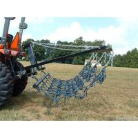 China 8FT Chain Harrow Landscape Lawn Drag Arena ATV Rake,Flexible Pasture Harrow with Drawbar on sale
