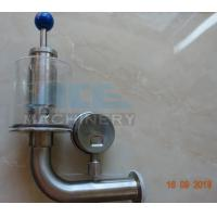 Wholesale Brewery Fermenter Tank Stainless Steel Safety Pressure Relief Bunging Valve  Pressure Relief Vacuum Valves from china suppliers