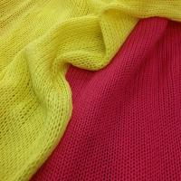 Wholesale Elastic 95% Cotton 5% Spandex Lycra Knitted Scarf Fabric from china suppliers