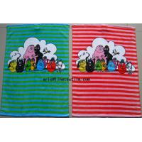 Wholesale kids  100% cotton reactive printed hand towel ,40X72CM , China factory from china suppliers