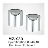Wholesale Φ24/410 Plastic Push Pull Disc Top Cap aluminum cover for cosmetic plastic bottle closure from china suppliers