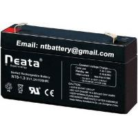 China 6v 1.3ah Sealed Rechargeable Lead Acid Battery on sale