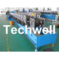 Wholesale Custom Automatic Guardrail Post Roll Forming Machine With Welded Structural Steel TW-SG100 from china suppliers