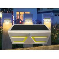 China Durable Solar Powered Motion Sensor Lights Outdoor , Solar Exterior Wall Light Fixtures on sale