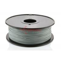 Wholesale HIPS PVA 3D Printer PLA 1.75MM Filament Silver Smooth , 2.2lb / Spool from china suppliers