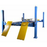 China Four Ton 4 Post Auto Lift With Second Jack / Hydraulic Lifts For Cars on sale