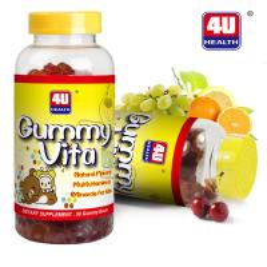 China Gummy Vita Chawable Multivitamins Gel Kids Supplements 90 Gummy Bears on sale