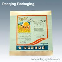 Food Packaging With Aluminum Foil, Fin Side Seal Pouch With Open Notches / Clear Window Manufactures