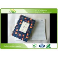 Buy cheap Plastic Paper Double Spiral Bound Notebook With Elastic Band Spiral Ring product