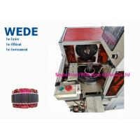 China Automatic Needle Copper Wire Coil Winding Machine , Submersible Motor Winding Machine Easy Change Over Tooling on sale