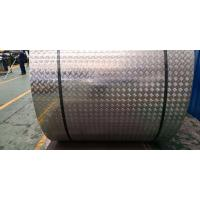 Quality 18 Gauge Chequred Polished Aluminum Sheet , 6061 Aluminum Checkered Sheet for sale