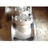 Quality Bolted Cover Cast Stainless Steel Swing Check Valve API 6D ANSI B 16.25 CN7M for sale