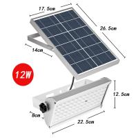 China Microwave Induction Solar Powered LED Outdoor Lights With Solar Panel 6V 3.5W on sale