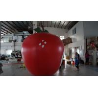 Wholesale 3.5m Height Apple Shaped Balloons Pantone Color Matched Printing Large from china suppliers