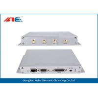 Wholesale SMA * 4 Antenna Etherent RS232 13.56 MHz RFID Reader , Universal GPIO Interface RFID Reader from china suppliers