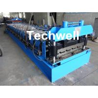 Wholesale 18 Forming Stations Roof Roll Forming Machine With Manual Or Hydraulic Type Decoiler / Uncoiler from china suppliers