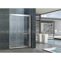 China Full Stainless Steel Sliding Glass Shower / Rectangular Shower Cubicles For House on sale