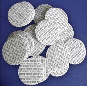 China Peelable easy peel off induction aluminum foil gasket/seal for beverage bottles induction seal liner on sale