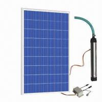 Wholesale Solar Water Pump System, DC/AC, Portable, Controller, Submersible Pump with 27V, 210W x 3 Power from china suppliers