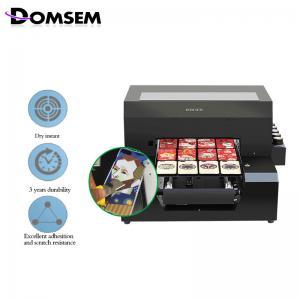 China Plastic Photo Id Card Printing Machine 6×500 Ml / Set UV Ink Included on sale