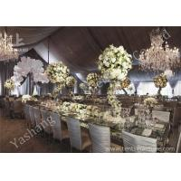 Wholesale Gorgeous Lining Adored Aluminum Frame Canopy Beautiful Wedding Tents from china suppliers